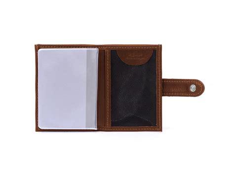 porte carte de bureau porte carte compact en cuir gold pour homme porte carte