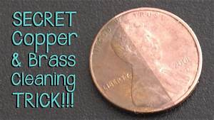 secret trick for cleaning brass and copper jewelry