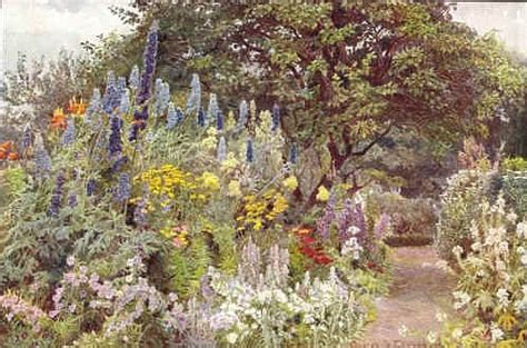 English Garden London by The Idea Garden Gertrude Jekyll Paintings Drawings