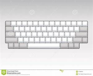 Keyboard Layout Stock Illustration  Illustration Of