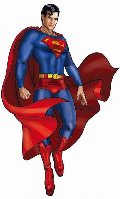 Superman Fan Cartoon Pose Clipart Background Superhero