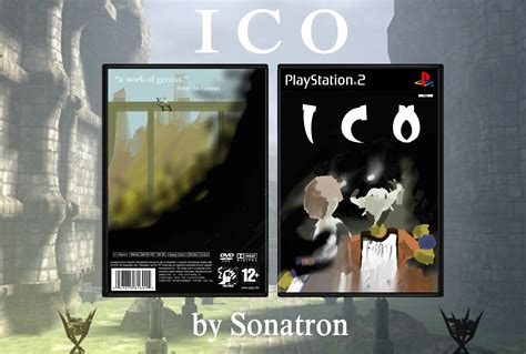 Ico Playstation 2 Box Art Cover By Sonatron