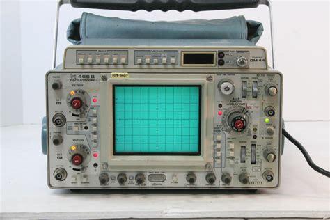 tektronix  oscilloscope  dm multimeter ebay