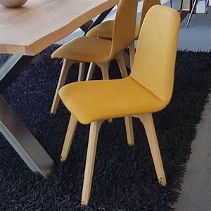 Chaise Tissu Salle A Manger : chaise de salle manger moderne en tissu et bois ~ Dallasstarsshop.com Idées de Décoration