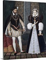 Portrait of King Henry II of France and Catherine de ...