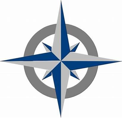 Angin Mata Arah Clipart Compass Gambar Nautical