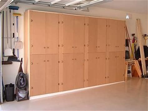 wood easy garage cabinets  plans