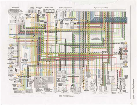 Gsxr 750 Wiring Diagram by 2002 Suzuki Gsxr 750 Wire Schematic Wiring Diagram
