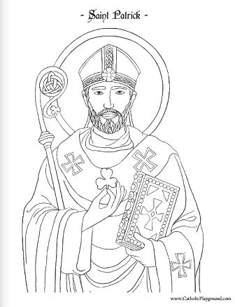 We have tons of father's day coloring pages to choose from. Saint Patrick coloring page: March 17th - Catholic Playground