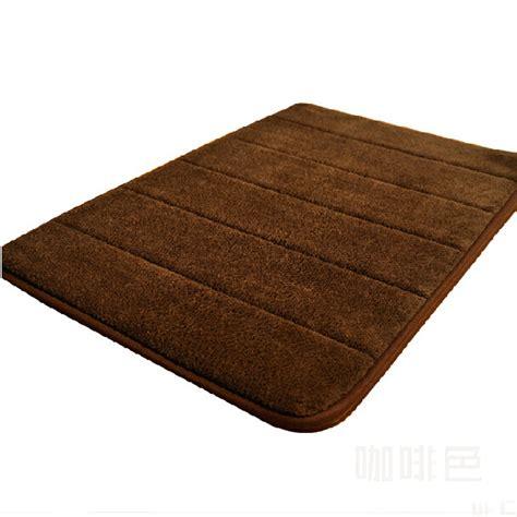 tapis mousse m 233 moire salle de bain absorbant coral fleece antid 233 rapant idxx ebay