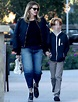 Julia Roberts flashes a big smile with her son in Malibu