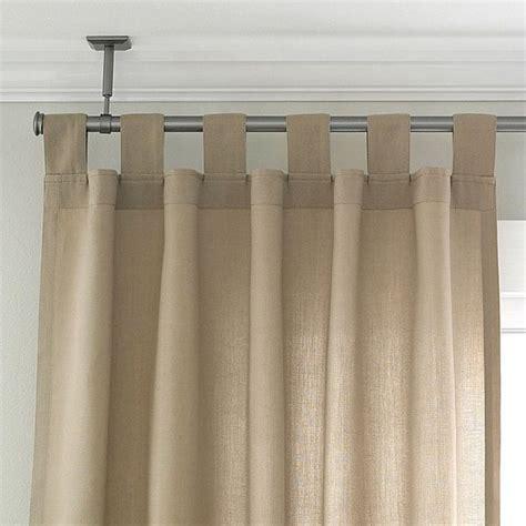 ceiling curtain rod ceiling mount curtain rod ideas homesfeed