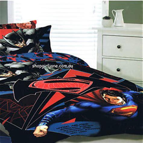 batman v superman known abilties queen bed quilt doona