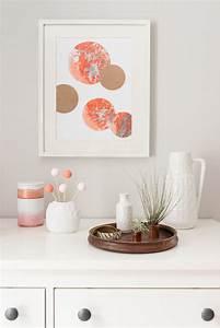 Farben Für Die Wand : diy papier marmorieren und deko f r die wand leelah loves ~ Michelbontemps.com Haus und Dekorationen