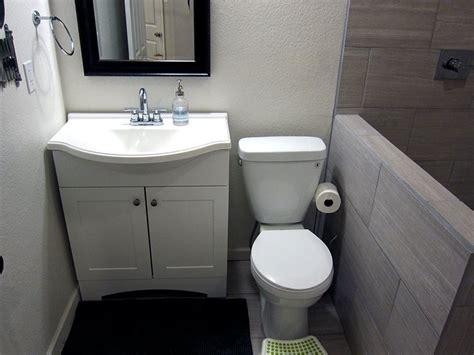 Finished Bathroom Ideas by Basement Bathroom Ideas From A Diy Basement Finish Modern