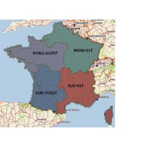Carte Quart Nord Ouest by Cartographie Sportdog Tek 2 0 Pack Carte 1 Quart Nord