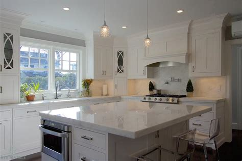 Danby Marble Countertops by Imperial Danby Marble Transitional Kitchen