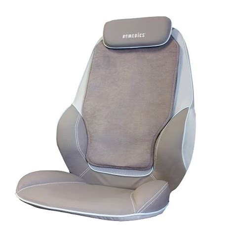 homedics cbs 1000 max shiatsu massaging chair back shoulder massager heated new ebay