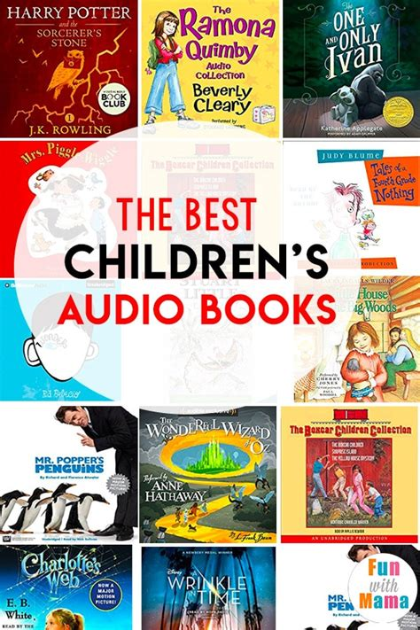 best children s audio books with 488 | audio books for kids