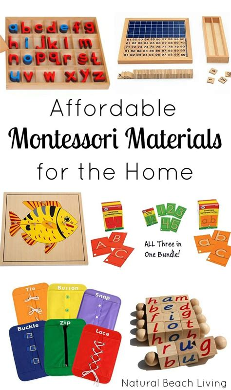 20 montessori materials that are easy on your budget