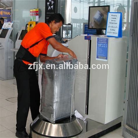 luggage wrapper airport luggage wrapping machine view luggage packing machine zftopa product