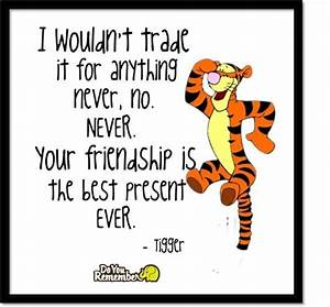 Tigger quote! #Disney #friendship #inspirational | quotes ...