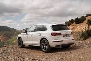 Audi Q5 Blanc : essai audi q5 2 0 tfsi 2017 l 39 essence lui va bien au teint l 39 argus ~ Gottalentnigeria.com Avis de Voitures