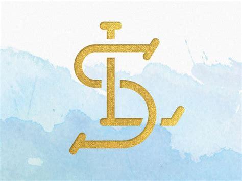 ls monogram initials logo monogram logo ls logo