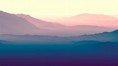 4k Purple Horizon Landscape Wallpapers Nature