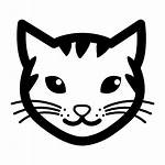 Cat Vector Icon Face Icons Outline Sanrio
