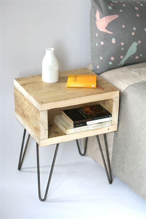 blondie bedside table handmade side table
