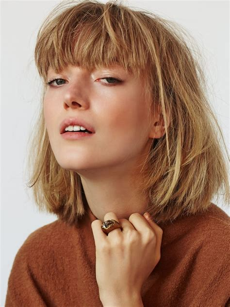 Choppy Hairstyles With Bangs by Best 25 Layered Bob Bangs Ideas On Longer