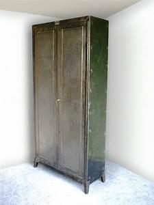 Armoire Industrielle Vintage : extr mement armoire industrielle m tallique kd93 ~ Teatrodelosmanantiales.com Idées de Décoration