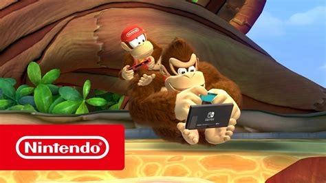 Donkey Kong Country Tropical Freeze Overview Trailer