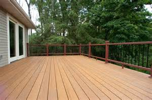 deck construction guide concrete deck plans decking