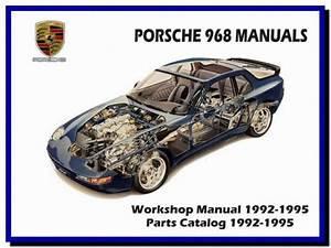 Porsche 968  1992-1995  - Service Manual