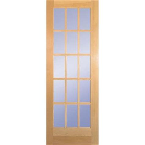 home depot wood doors interior builder 39 s choice 30 in x 80 in 30 in clear pine wood 15
