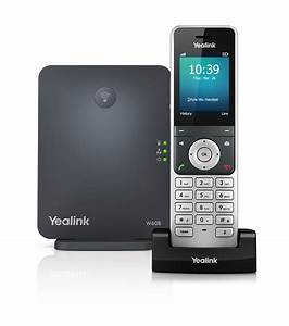 Yealink W60p Base Station And Dect Colour Screen Handset