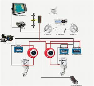 Latest 2 Battery Wiring Diagram For Boat Magnificent Diagrams And Marine Switch