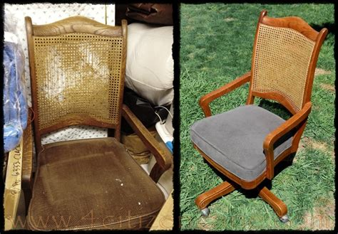 forgotten vintage cane back desk cane back arm chair we