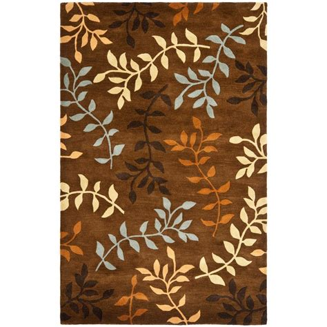 6 x 9 area rugs safavieh soho brown multi 7 ft 6 in x 9 ft 6 in area