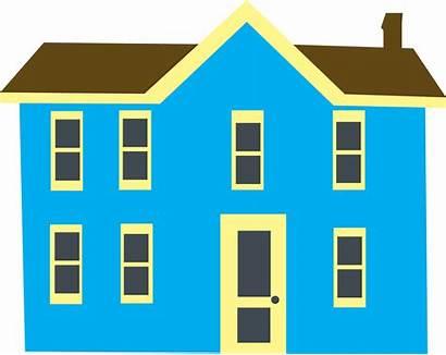 Clipart Clip Building Story Cartoon Windows Mansion