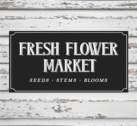 farmers market sign modern farmhouse farm cut file