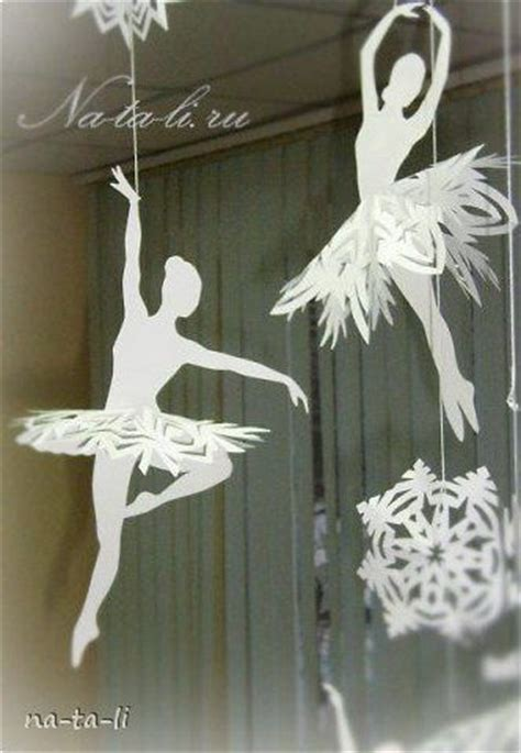 creative ideas diy beautiful snowflake ballerinas
