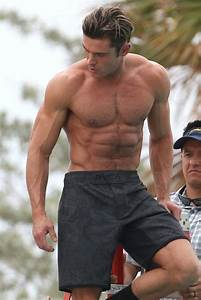 Zac Efron Baywatch Workout Routine Physique Breakdown Kinobody Male Models Picture