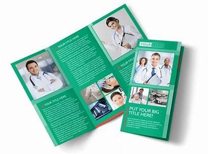 Brochure Medical Template Center Service Fold Templates