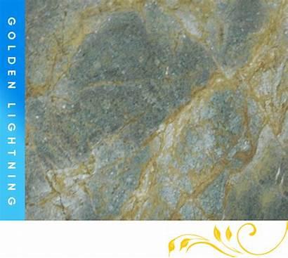 Golden Lightning Granite Counter