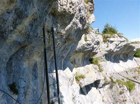 via ferrata de la roche du mont 224 ornans doubs