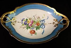 Limoges France Signed Porcelain Bowl