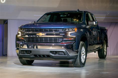 2019 Chevy Silverado How A Big, Thirsty Pickup Gets More